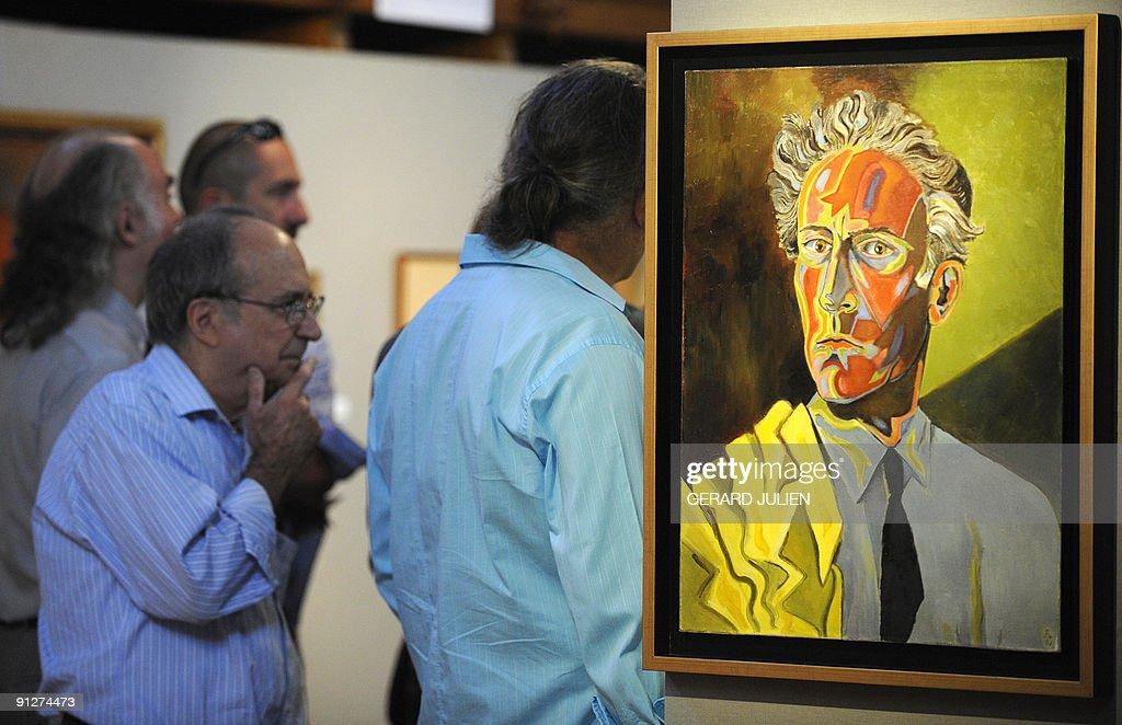 Autoportrait a la veste jaune