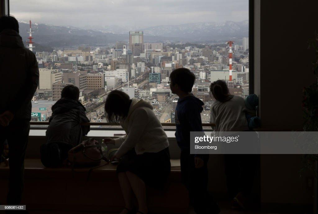 General Views of Kanazawa Ahead of CPI Figures