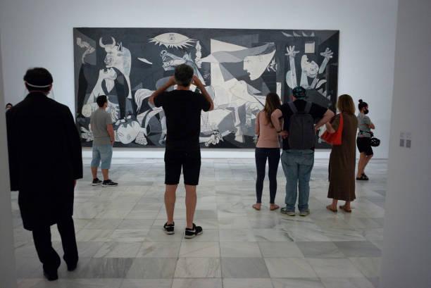 ESP: Reina Sofia Museum Reopens In Madrid