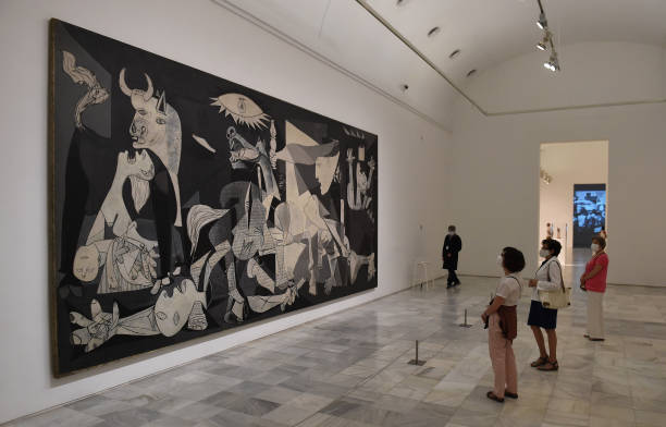 ESP: Reina Sofia Museum Reopens In Madrid