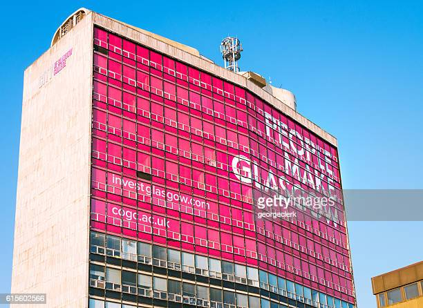 People Make Glasgow slogan on City of Glasgow College building