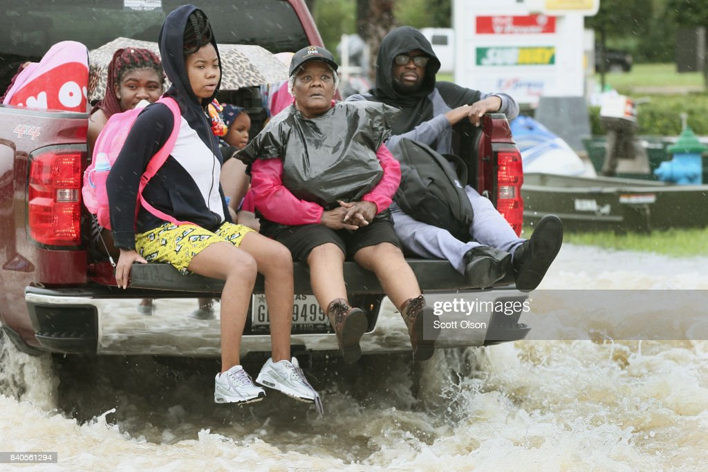 Epic Flooding Inundates Houston After Hurricane Harvey : News Photo