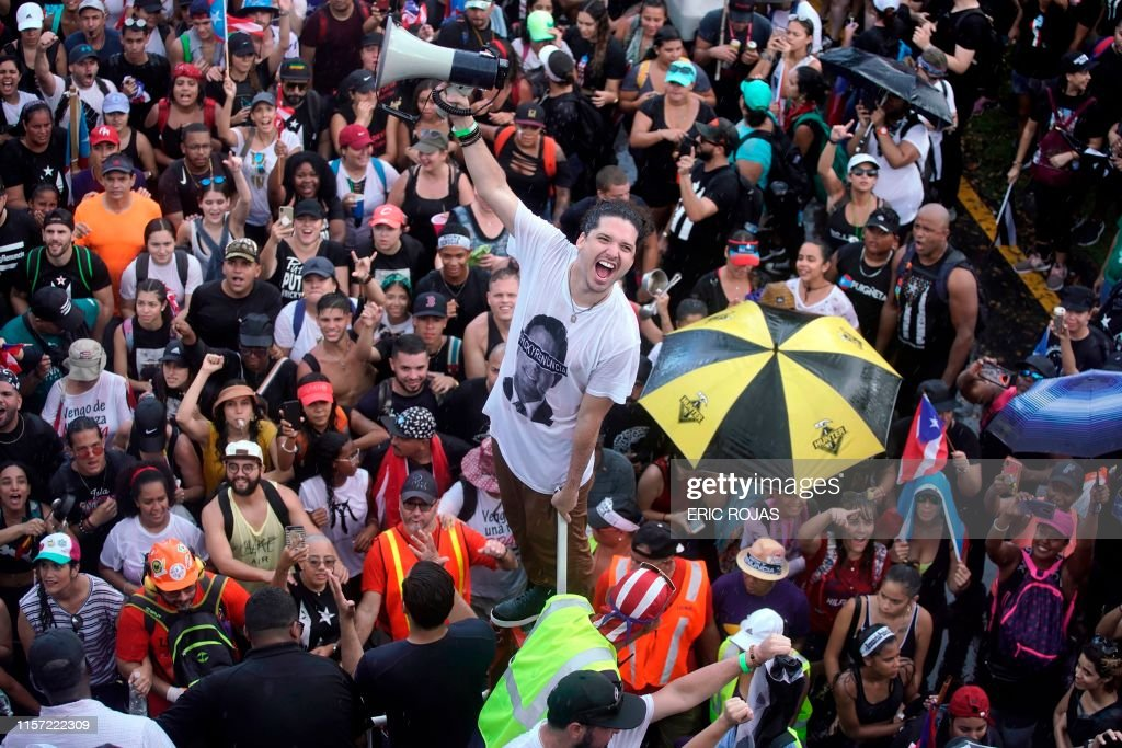 US-PUERTO RICO-PROTESTS : News Photo