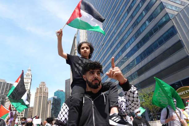IL: Palestinian Organizations In Chicago Protest Israeli Attacks On Gaza