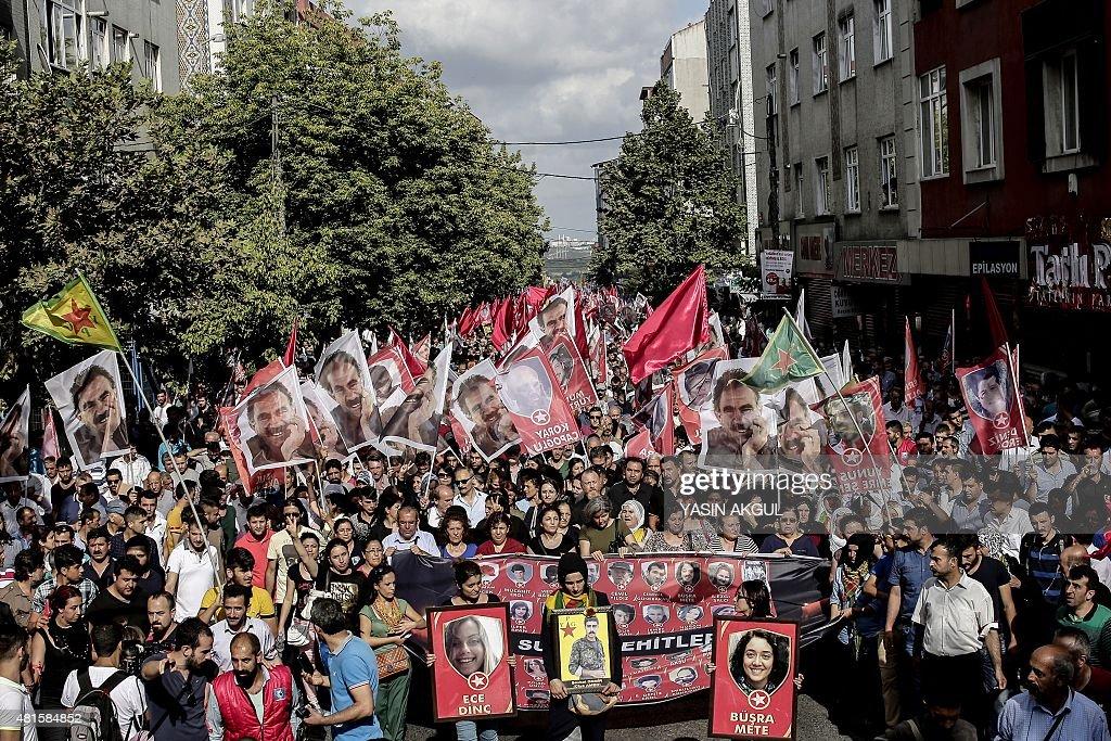 TURKEY-SYRIA-ATTACKS : News Photo