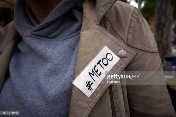 People mostly women gathered in Toulouse France on October 29th 2017 to denounce sexual harassment after the Harvey Weinstein' scandal They gathered...
