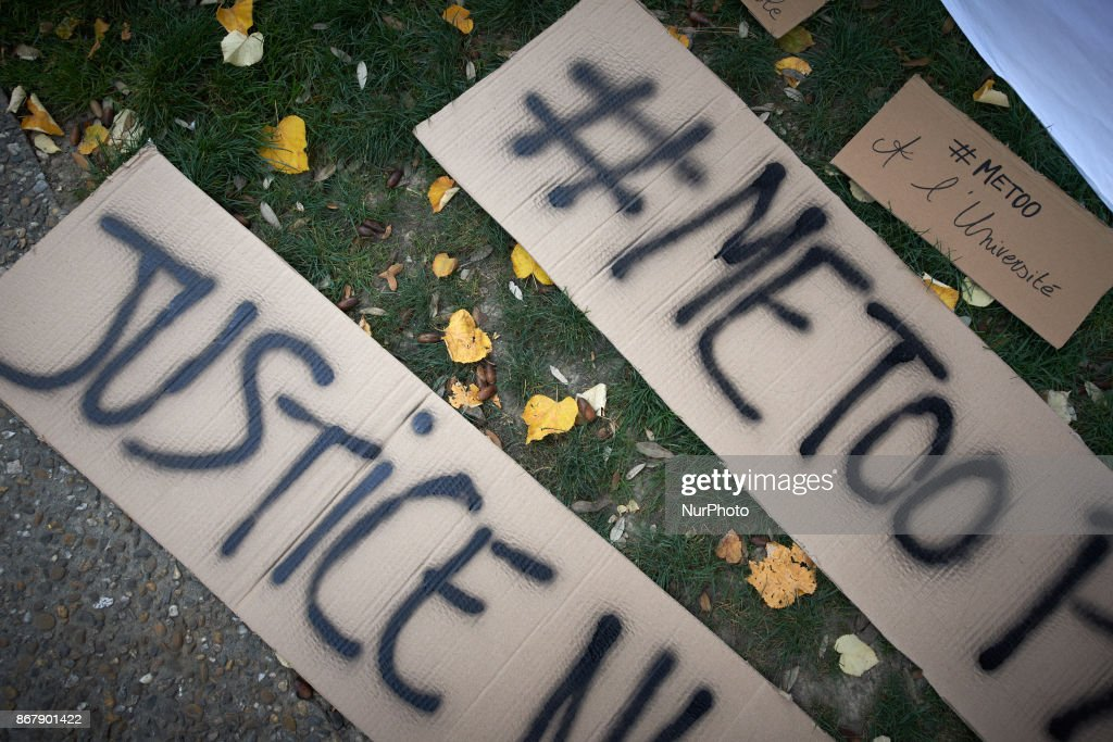 Protesters against sexual violence in Toulouse : News Photo