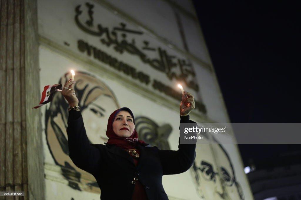 Egypt Attack Tribute : News Photo