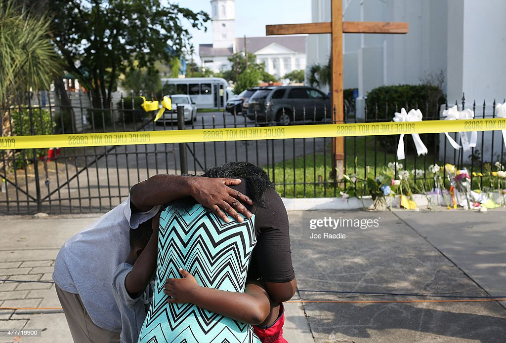 Nine Dead After Church Shooting In Charleston : News Photo
