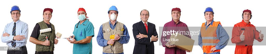 People Occupation Collection : Stock Photo