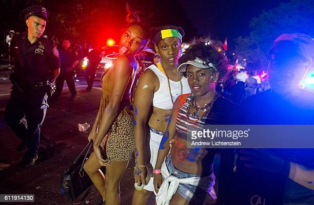 People of Caribbean descent celebrate J'Ouvert a traditional carnival holiday celebrated before dawn that has its origins in the emancipation from...