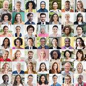 People of the world portraits - ethnic diversity