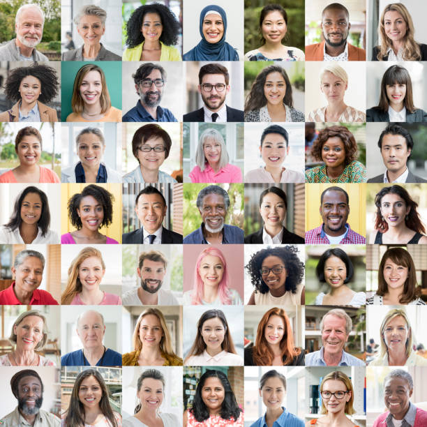 people of the world portraits - ethnic diversity - people stock pictures, royalty-free photos & images