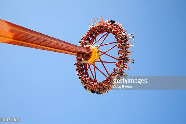 People on Amusement Ride at Surfers Paradise