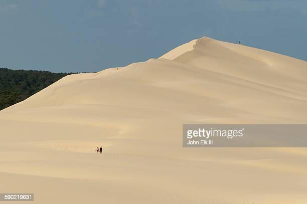 People on Dune de Pyla Pilat Dune