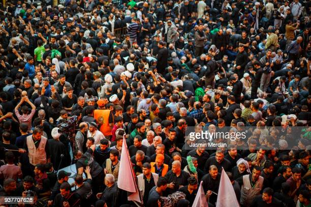people on street - muharram stock pictures, royalty-free photos & images