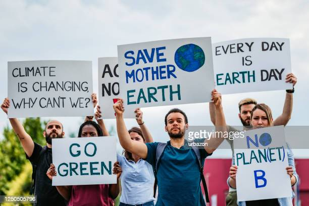 people on strike for climate change - striker stock pictures, royalty-free photos & images