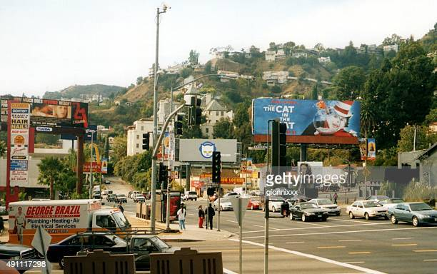 People on the Sunset Strip, West Hollywood California