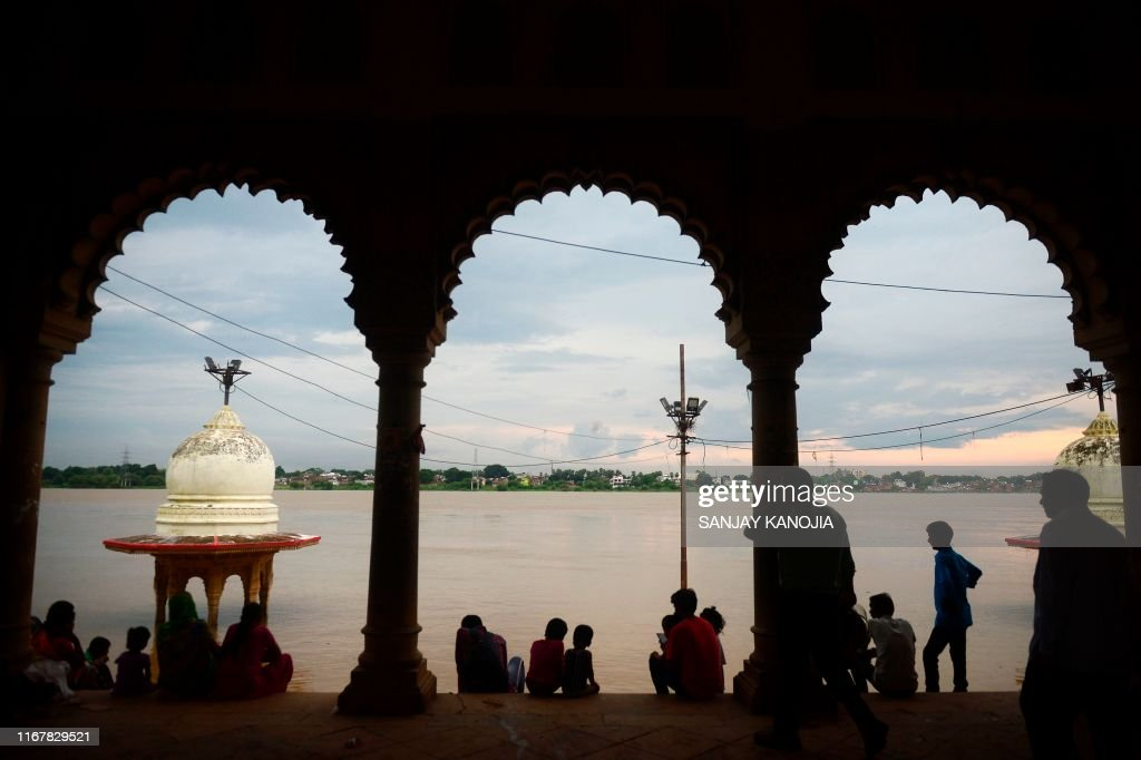 INDIA-WEATHER-MONSOON-FLOOD : News Photo