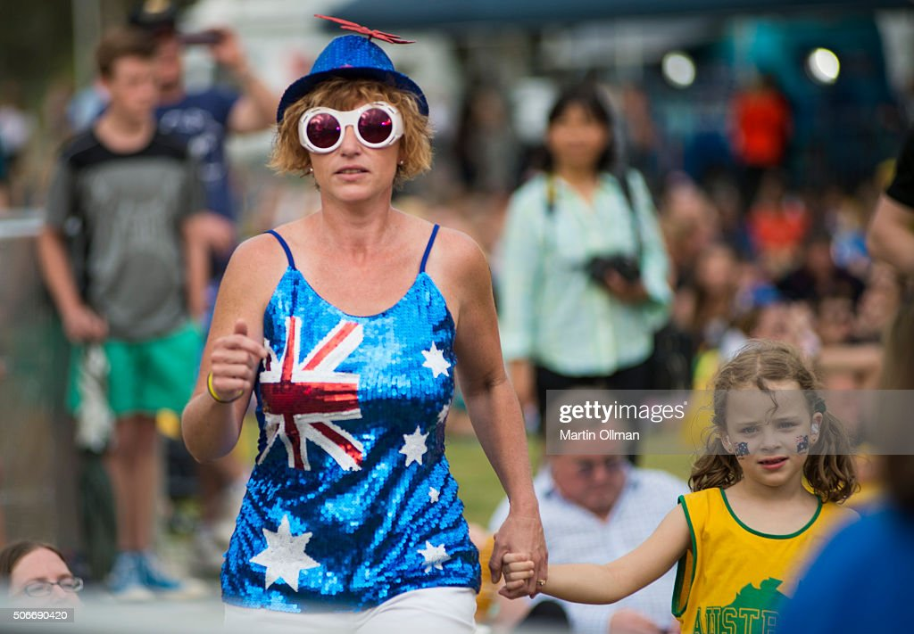 People participate during the Australian of The Year Awards 2016 at Parliament House on January 25, 2016 in Canberra, Australia.