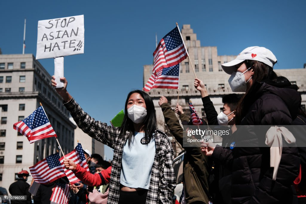 Large Rally To Stop Asian Hate Held In New York City : News Photo
