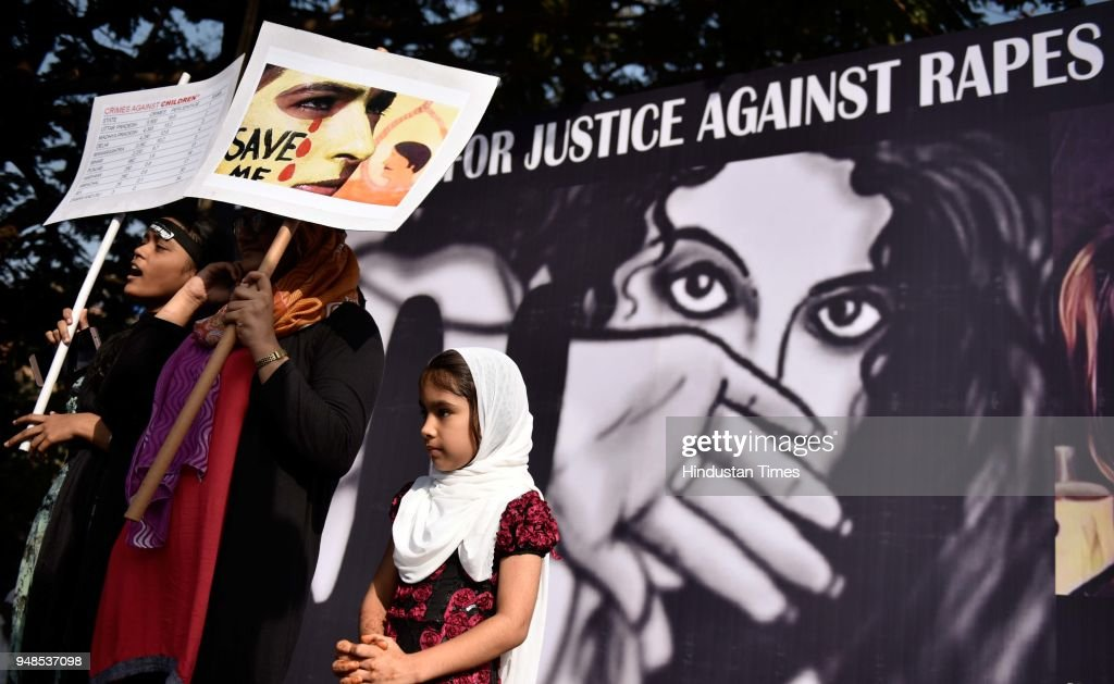 People Participate In Peaceful March For Justice Against Rapes And Murders