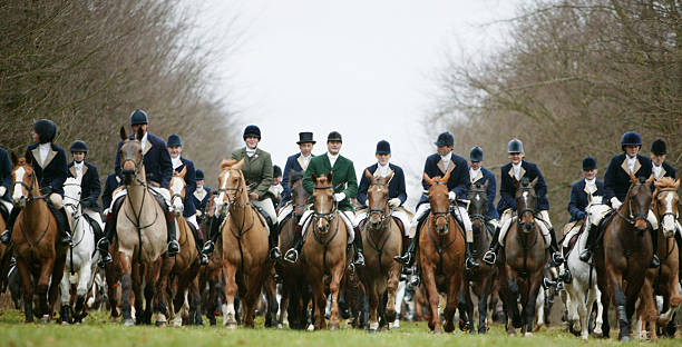Participants of Tradition Fox and Hound Hunt