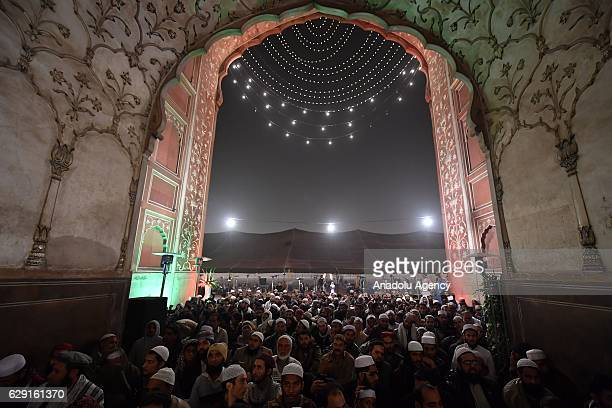 People participates a prayer ceremony where also Turkish Head of the Religious Affairs Directorate Mehmet Gormez attended organized within the the...