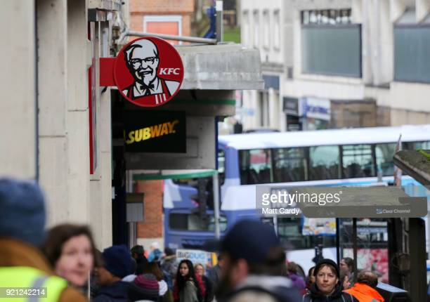 People P A Branch Of Kfc That Is Closed Due To Problems With The Delivery