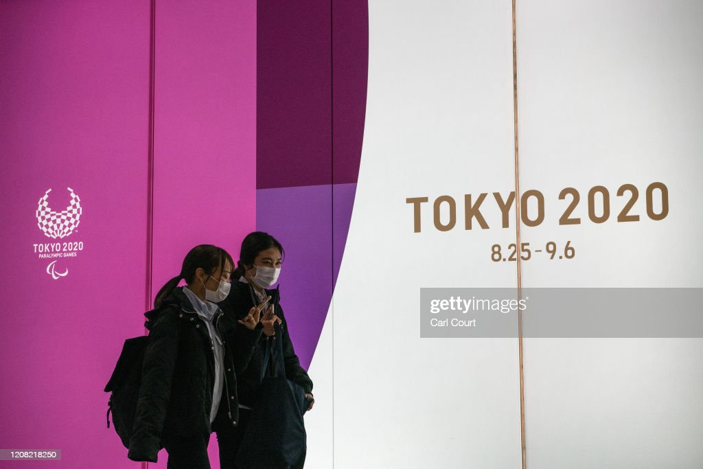 Japanese Government And IOC Agree To Postpone Olympic Games : News Photo