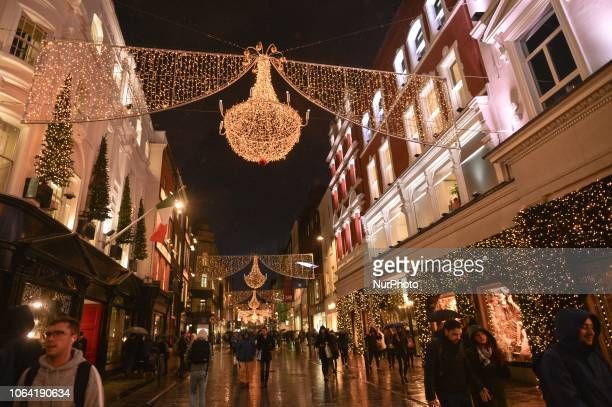 People pass by the new Brown Thomas Christmas Season window display . Brown Thomas unveiled their ever-so-sophisticated eight-window display with...