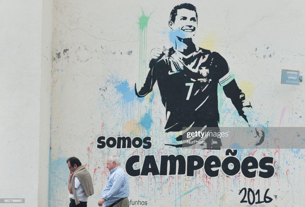 Cristiano Ronaldo Real Madrid Superstar Wall Sticker Art Decal Mural 1421