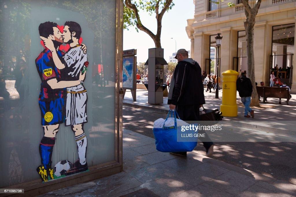 SPAIN-STREET-ART : News Photo