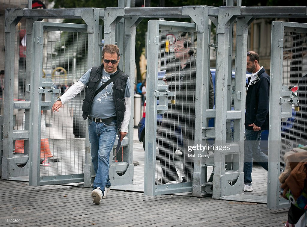 Security Preparations Ahead Of The Nato Summit : News Photo