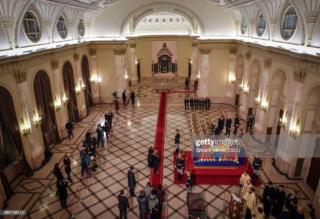 ROMANIA-KING MICHAEL-ROYALS-FUNERAL : News Photo