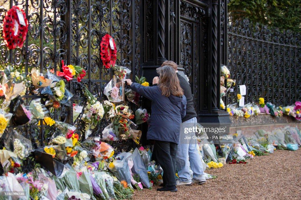 Duke of Edinburgh death : ニュース写真