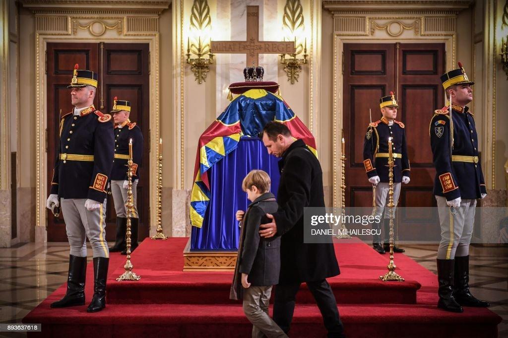 ROMANIA-KING MICHAEL-FUNERAL : ニュース写真