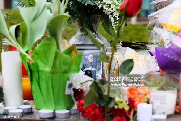 People pay there respects to the injured and dead victims of the recent attacks on pedestrians