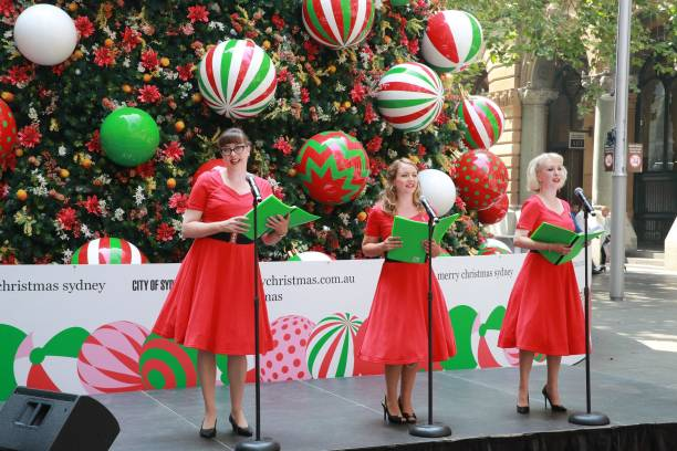 AUS: Christmas Launch Ceremony In Sydney
