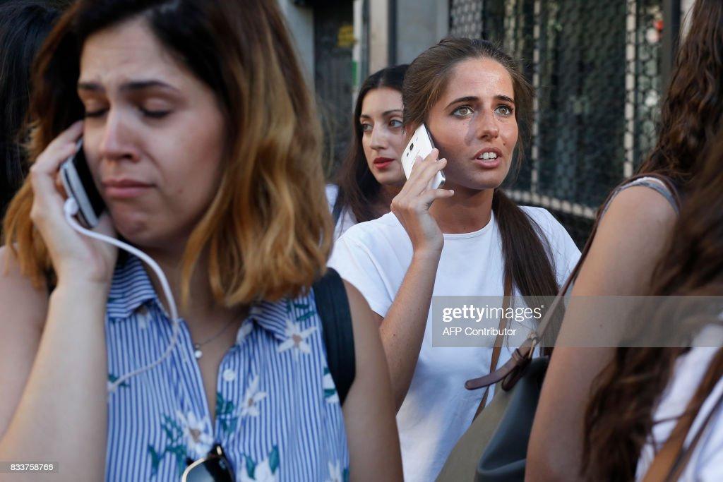 SPAIN-ATTACK-BARCELONA : News Photo