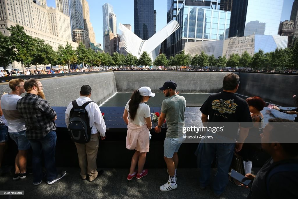 9/11 Memorial in New York : Nachrichtenfoto