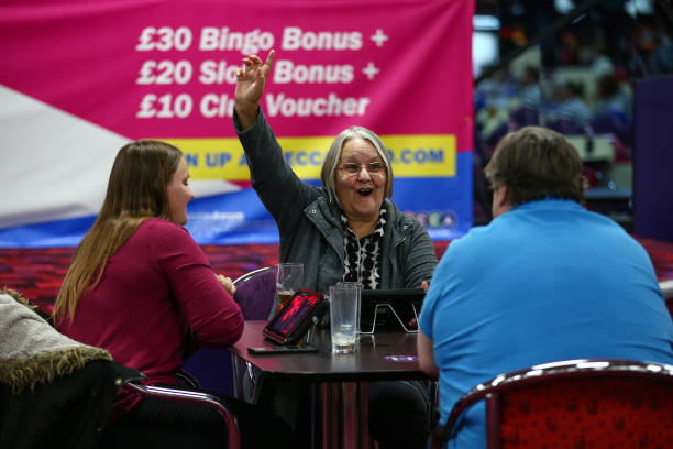 GBR: Eyes Down For A Half-full House - Bingo Reopens After Coronavirus Lockdown Eases