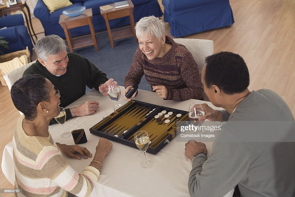 People playing games : Stock Photo