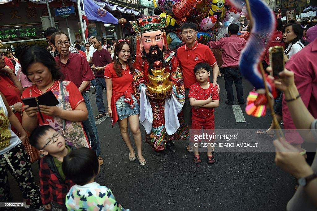 THAILAND-LUNAR-NEW YEAR : News Photo