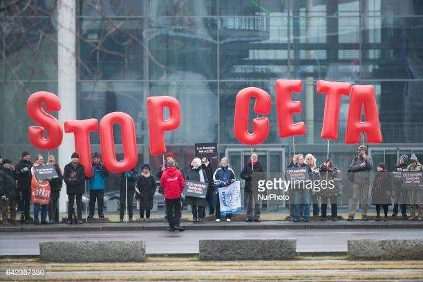 Ceta Trade Agreement Stock Photos And Pictures Getty Images