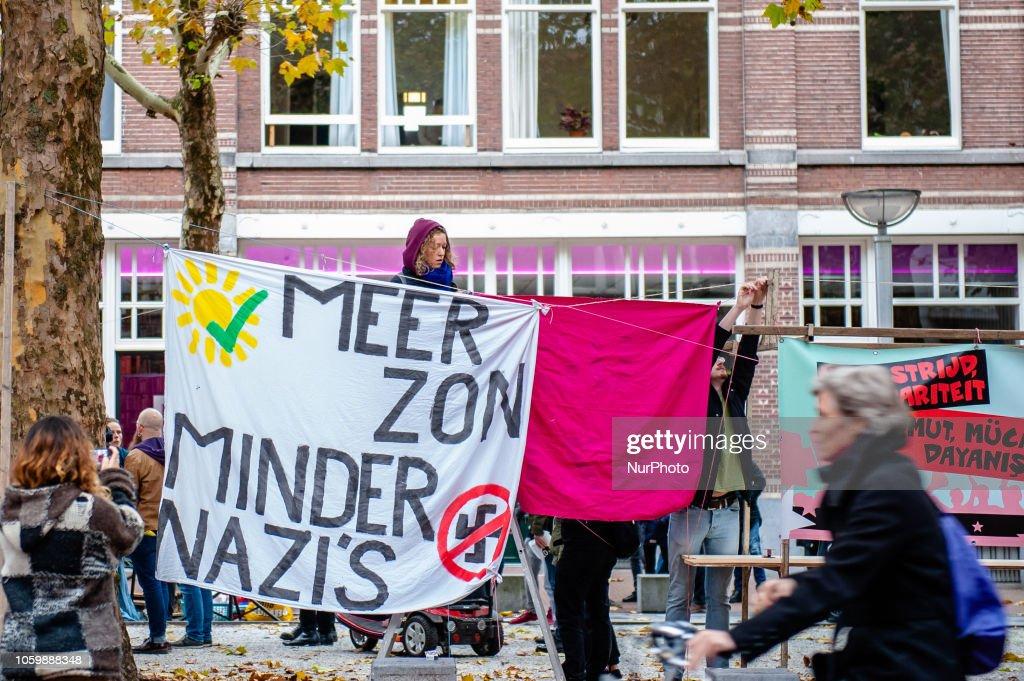 Demonstration Against Racism In Nijmegen, The Netherlands : News Photo