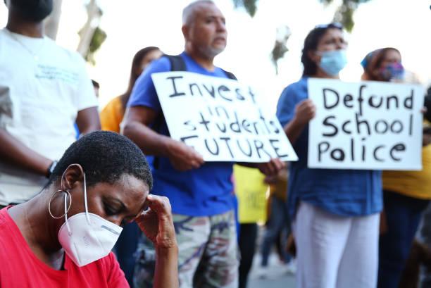 CA: Protestors Call For Defunding Of Los Angeles School Police Department