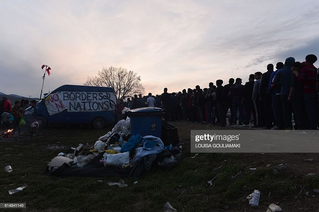 GREECE-MACEDONIA-EUROPE-MIGRANTS : ニュース写真