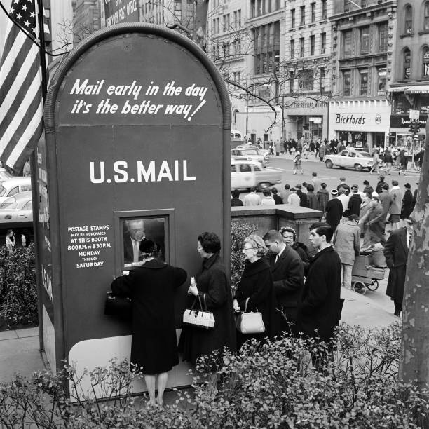USA: In The News: A Look Back At The US Mail