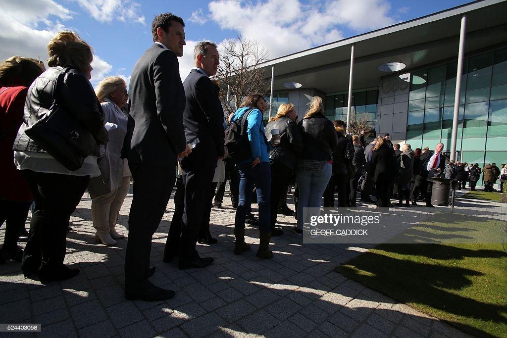 BRITAIN-DISASTER-HILLSBOROUGH-FBL-ENG-PR-LIVERPOOL : News Photo